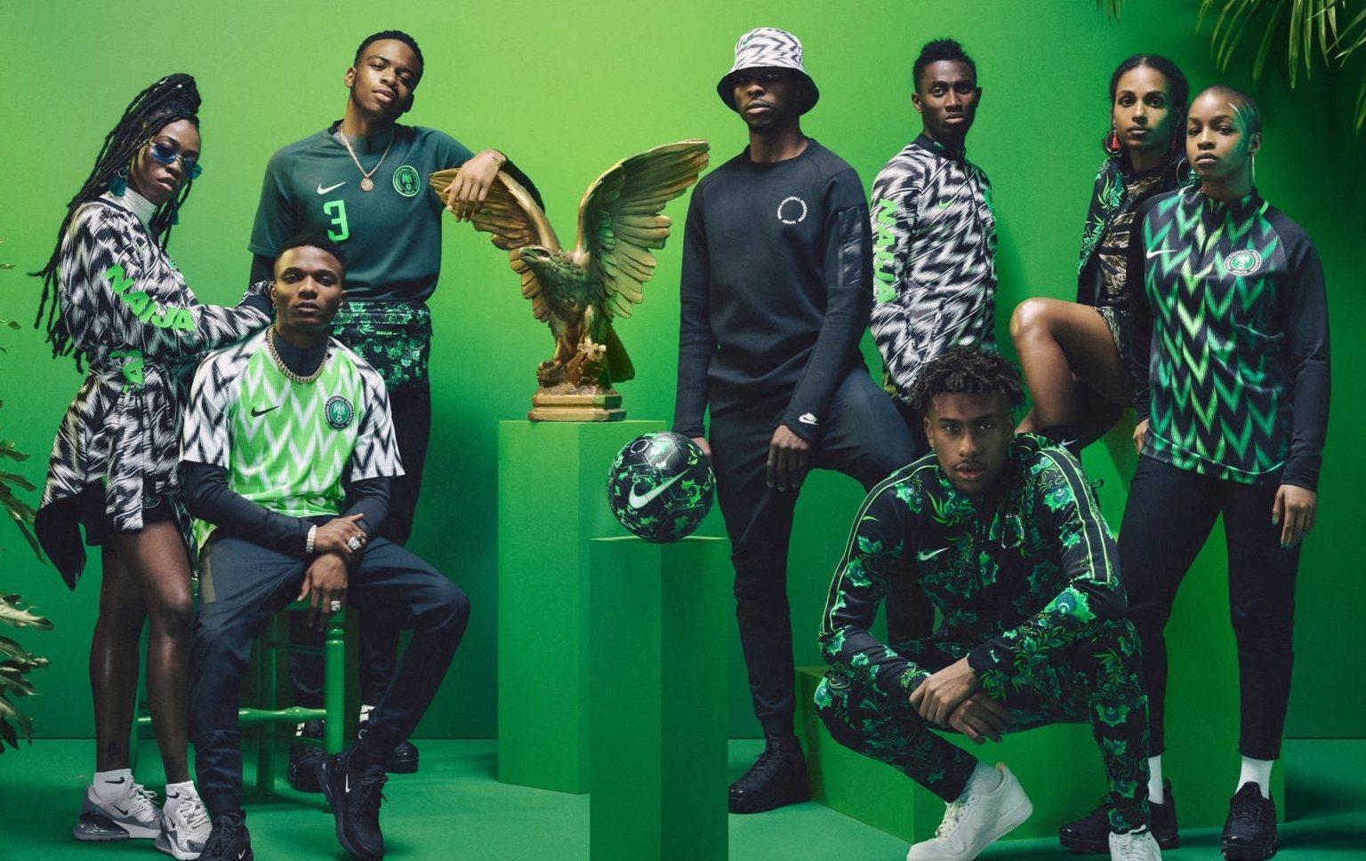 Tous les maillots du Nigeria ont été vendus en 15 minutes !