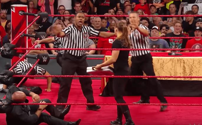 Ronda Rousey WWE Raw Kurt Angle Alexa Bliss