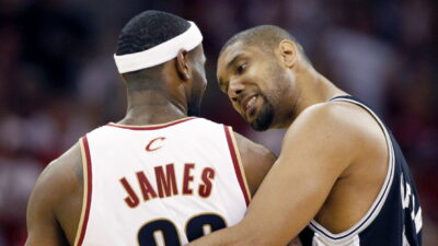 San Antonio Spurs Cleveland Cavaliers Sweep