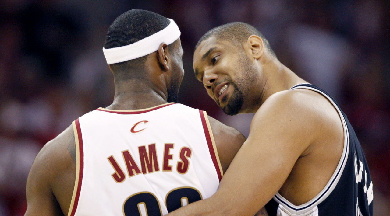 San Antonio Spurs Cleveland Cavaliers Sweep