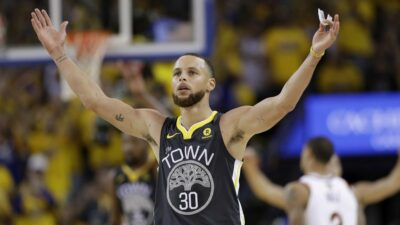 Stephen Curry Warriors Cavs