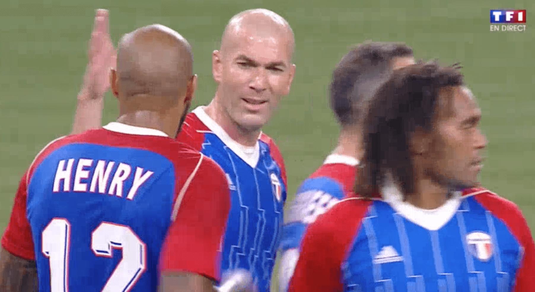 Thierry Henry Zidane