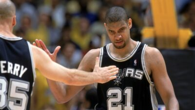 Tim Duncan NBA Finals 2003