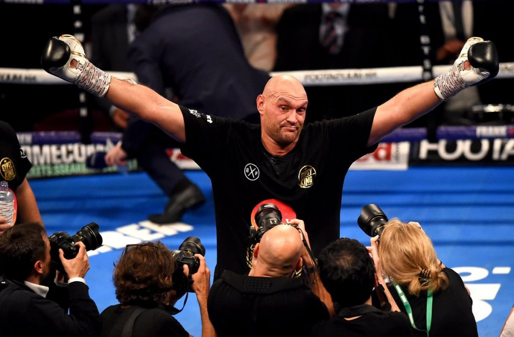 Tyson Fury Seferi retour