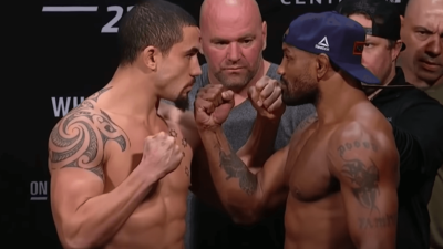 UFC 225 Romero Whittaker weigh in