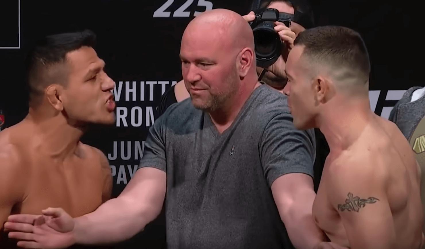 UFC 225 Romero Whittaker weigh in carte