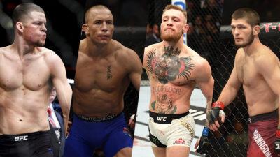 UFC Khabib Diaz McGregor St Pierre