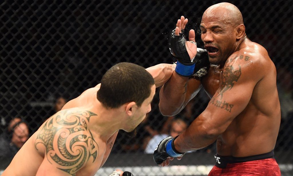 Yoel Romero UFC 225 Robert Whittaker