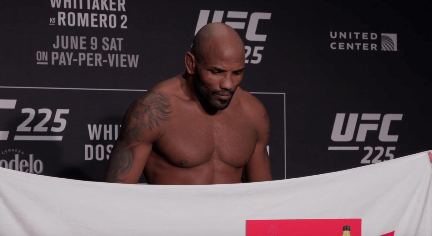 Yoel Romero UFC 225 weigh in