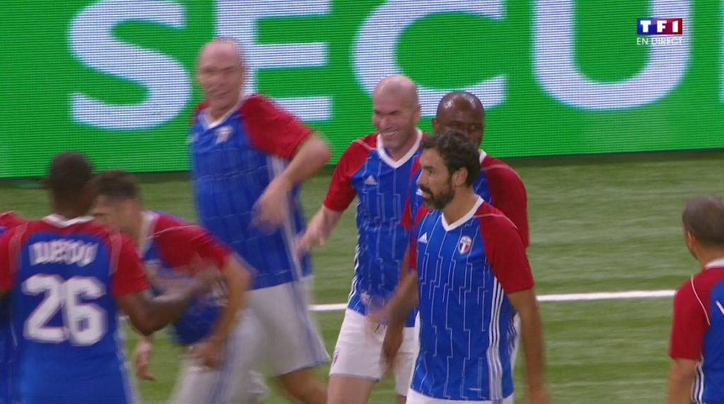 Zinedine Zidane but