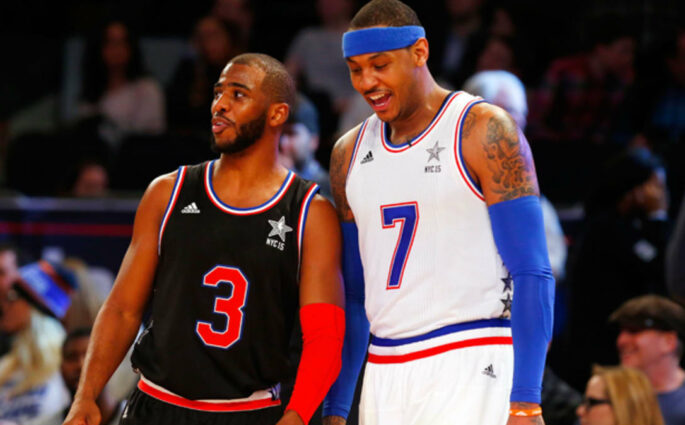 Chris Paul Carmelo Anthony