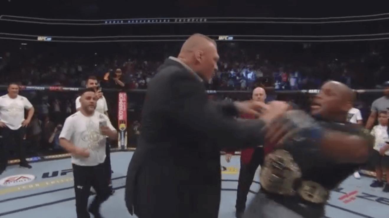 Daniel Cormier Brock Lesnar UFC
