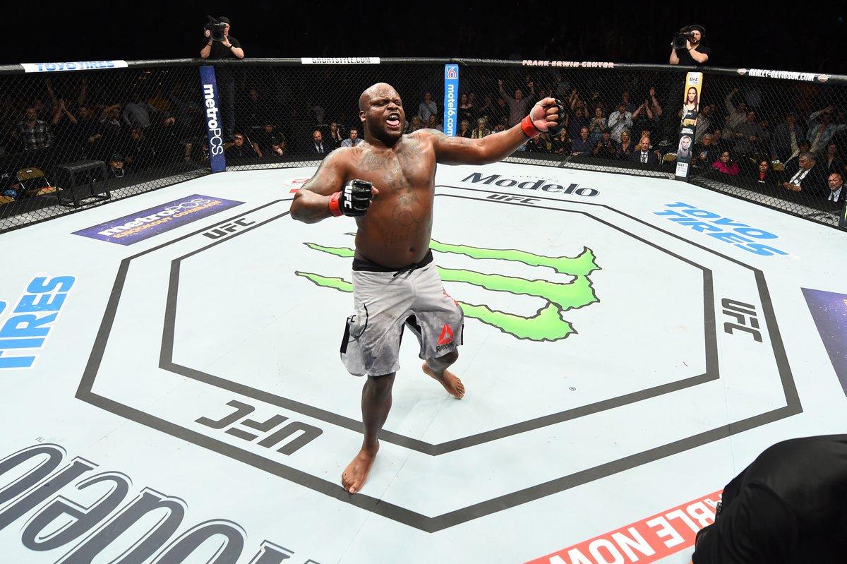 Derrick Lewis Francis Ngannou UFC 226