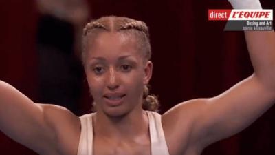 Estelle Mossely Yoka boxe