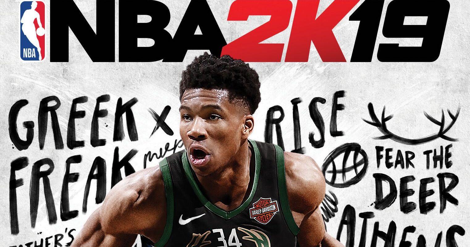 Giannis Antetokounmpo - premier non-américain en cover de NBA 2K !