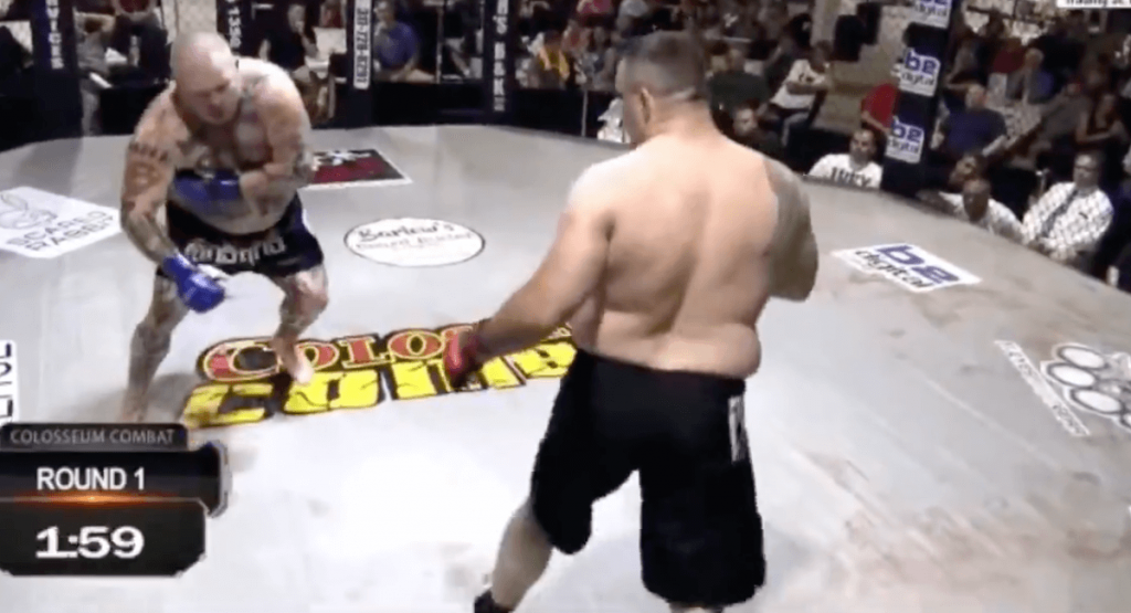 Jonathan Ivey Travis Fulton fight