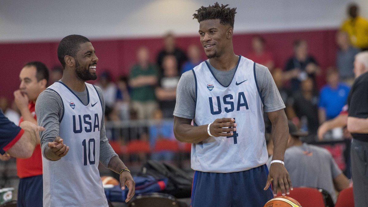 Kyrie Irving Jimmy Butler