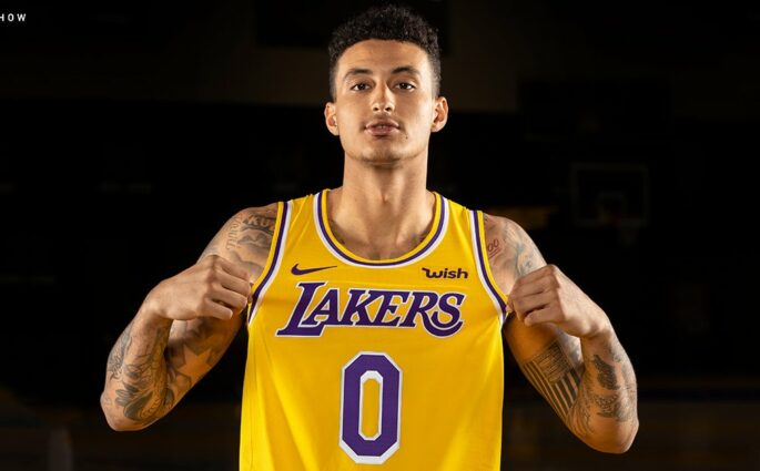 Lakers maillot 2018 2019