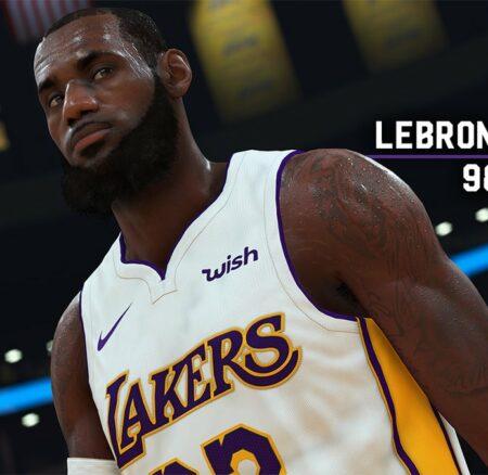 La note de LeBron James dans NBA 2K19 dévoilée !