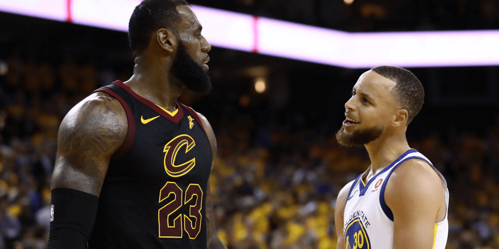 LeBron James Stephen Curry NBA (1)