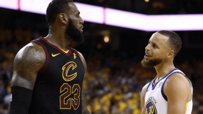 LeBron James Stephen Curry NBA (1)