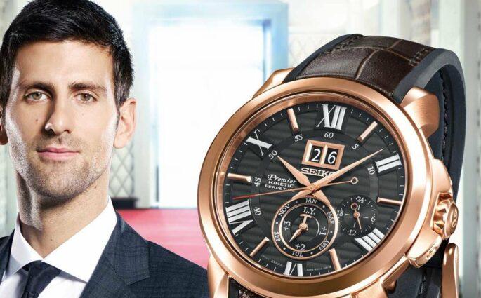 Novak Djokovic Seiko