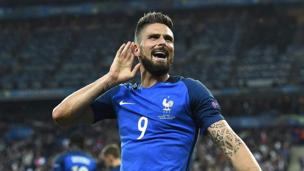 Olivier Giroud France Coupe du Monde 2018