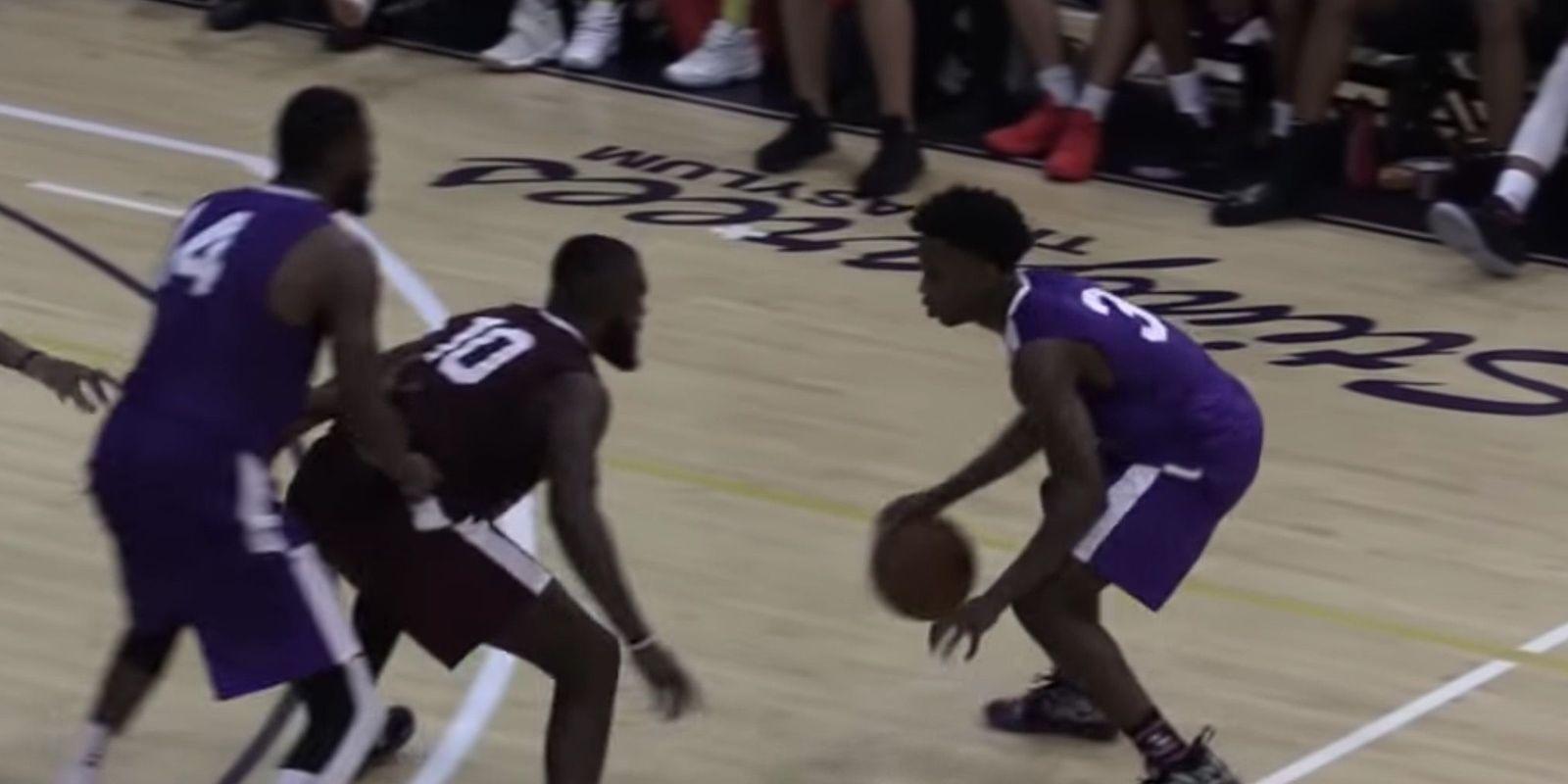Le fils de Dwyane Wade fait un carnage contre des joueurs NBA