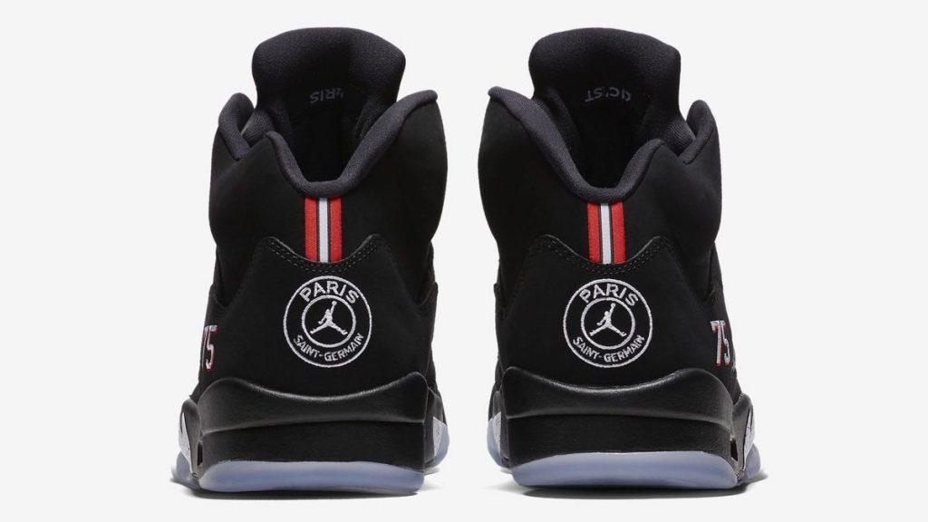 "Jordan dévoile les Air Jordan 5 ""Paris St-Germain"""