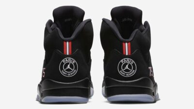 "Jordan dévoile les Air Jordan 5 ""Paris St-Germain"""