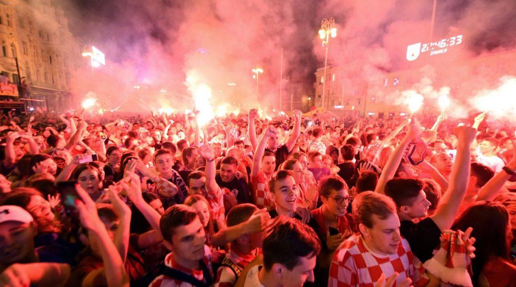 Croatie Coupe du Monde Zagreb