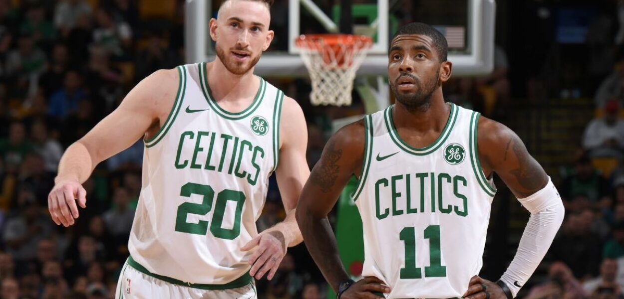 Kyrie Irving Gordon Hayward