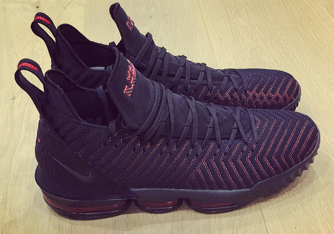6a1430c3bf7b2 LeBron 16 - King James dévoile ses nouvelles signature shoes