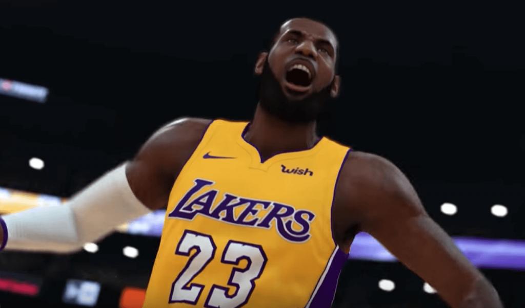 NBA 2K19 LeBron James