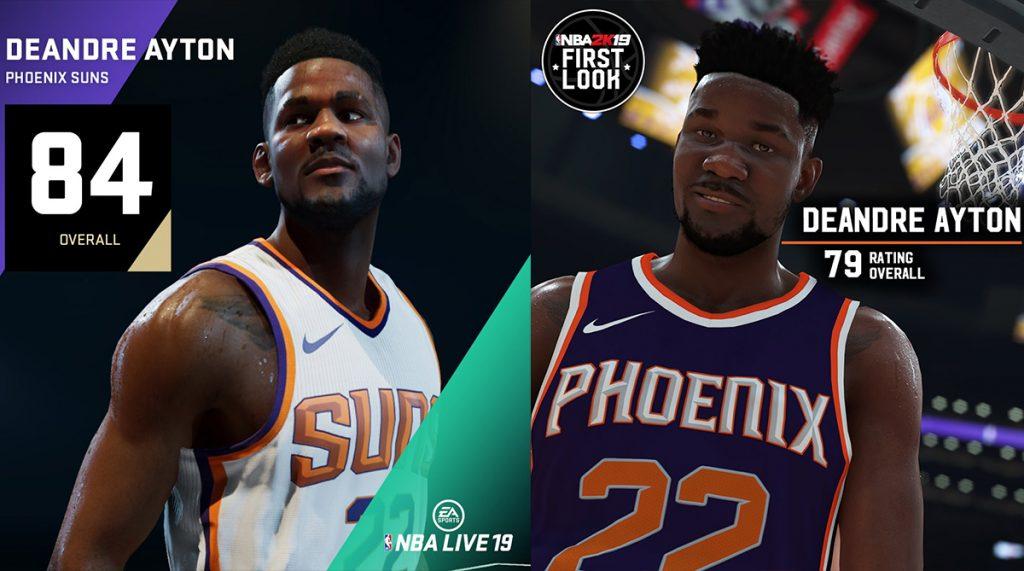 NBA Live 19 - les joueurs les mieux notés à chaque poste