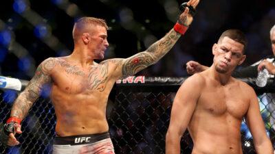 Nate Diaz Dustin Poirier UFC 230