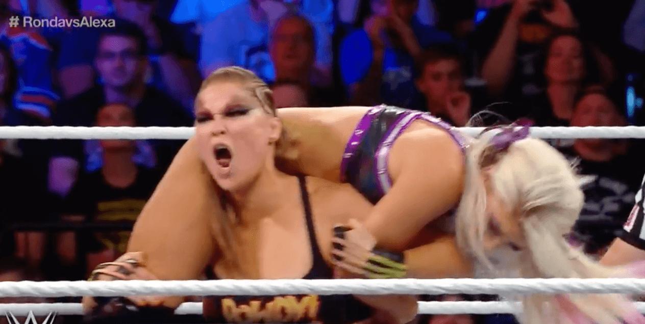 Ronda Rousey WWE SummerSlam