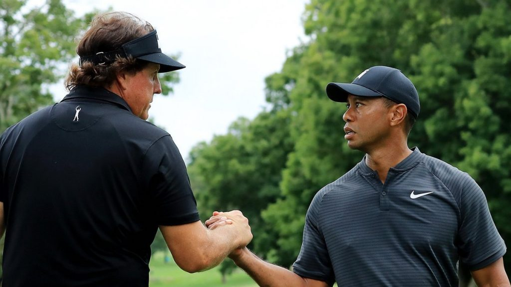 Tiger Woods Phil Mickelson