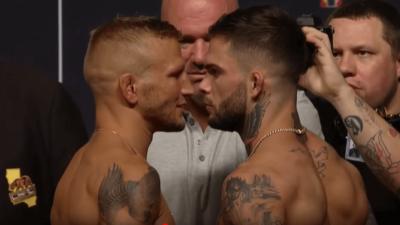 UFC 227 Dillashaw Garbrandt