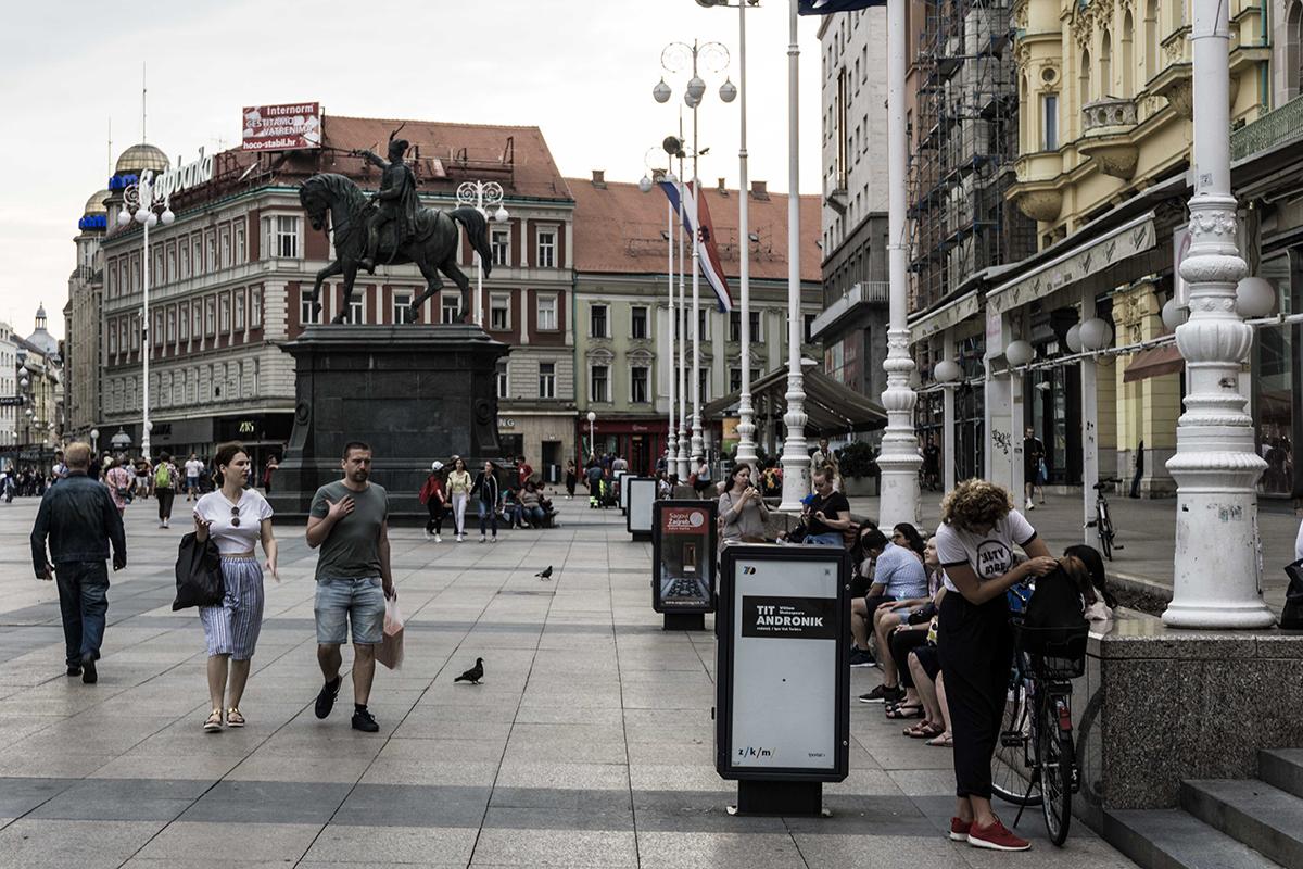 Zagreb Croatie Modric