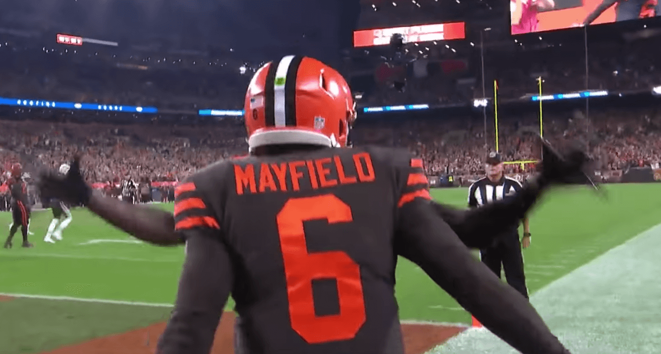 Baker Mayfield Cleveland Browns