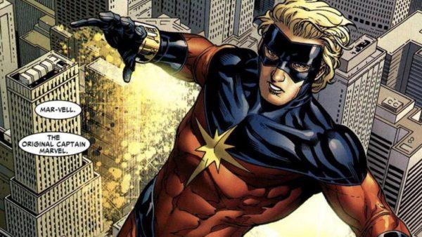 Captain Marvel Mar-vell