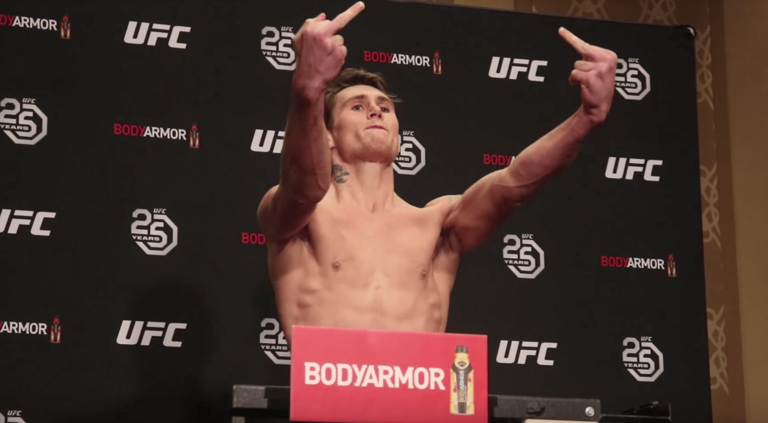 Darren Till UFC 228 weigh in
