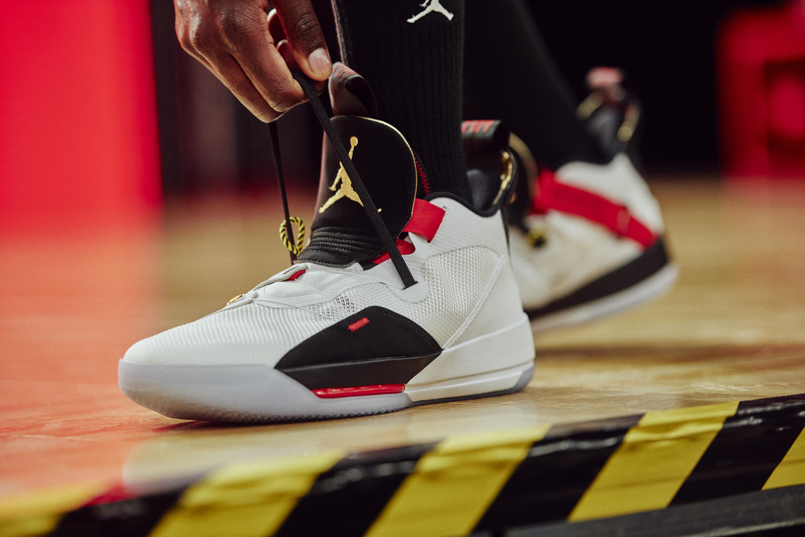 L'Air Jordan XXXIII enfin dévoilée, adieu les lacets !