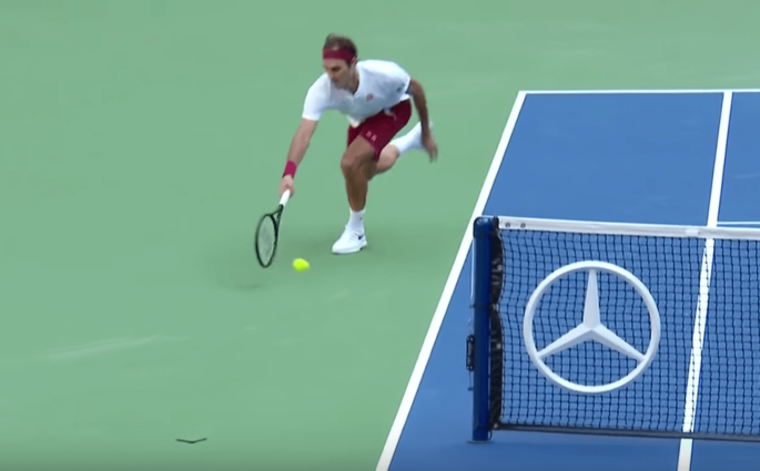 Roger Federer Nick Kyrgios US Open