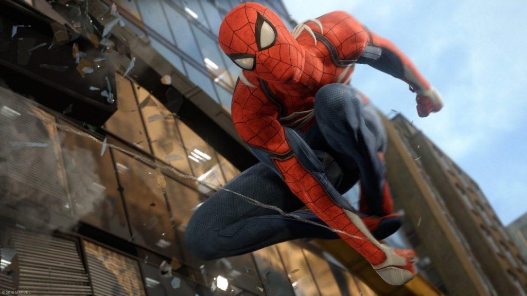 Spiderman PS4 Playstation