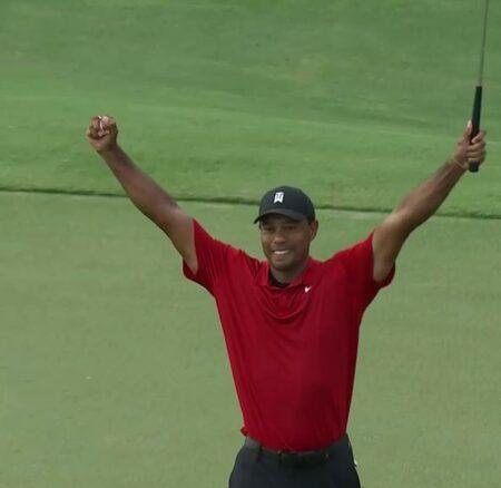 Tiger Woods remporte le Tour Championship !