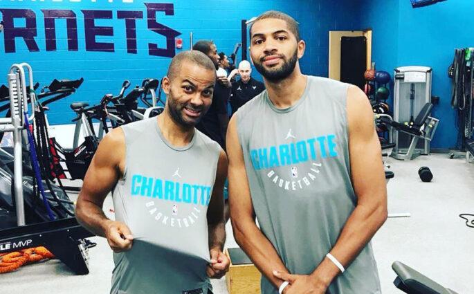 Tony Parker Charlotte Hornets