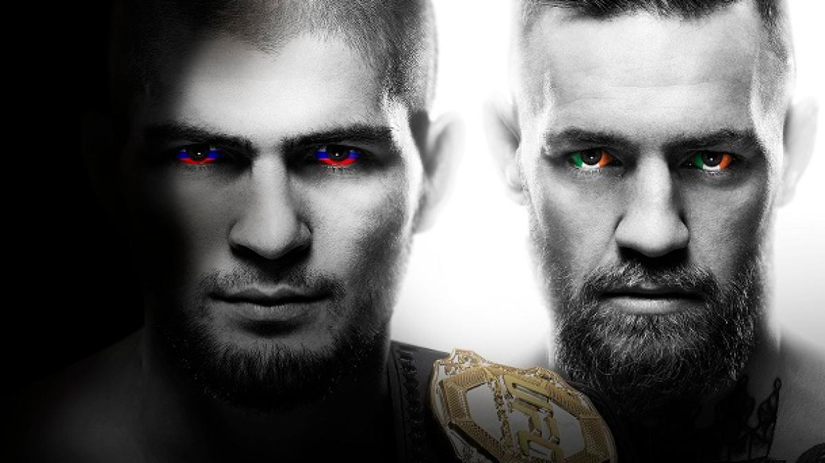 UFC 229 McGregor Khabib Nurmagomedov Press Conference