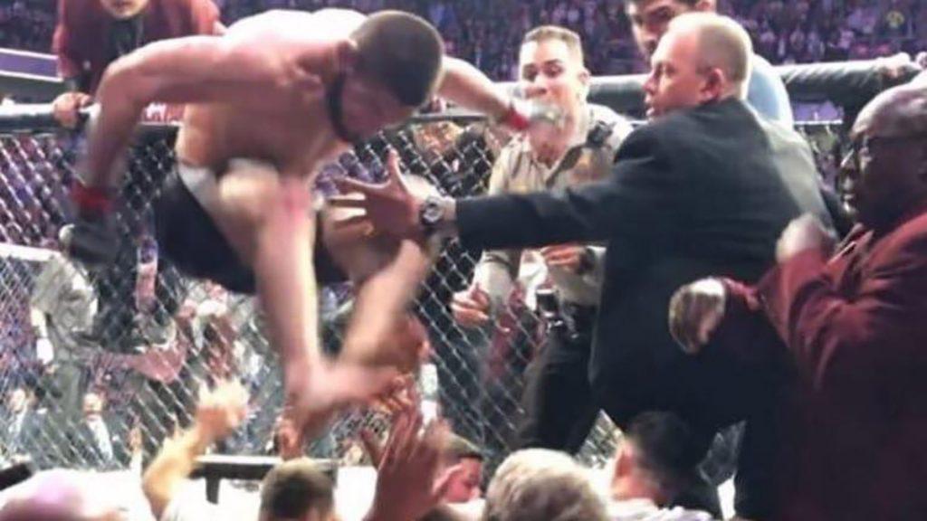 Khabib Nurmagomedov ne regrette pas ses actions de l'UFC 229